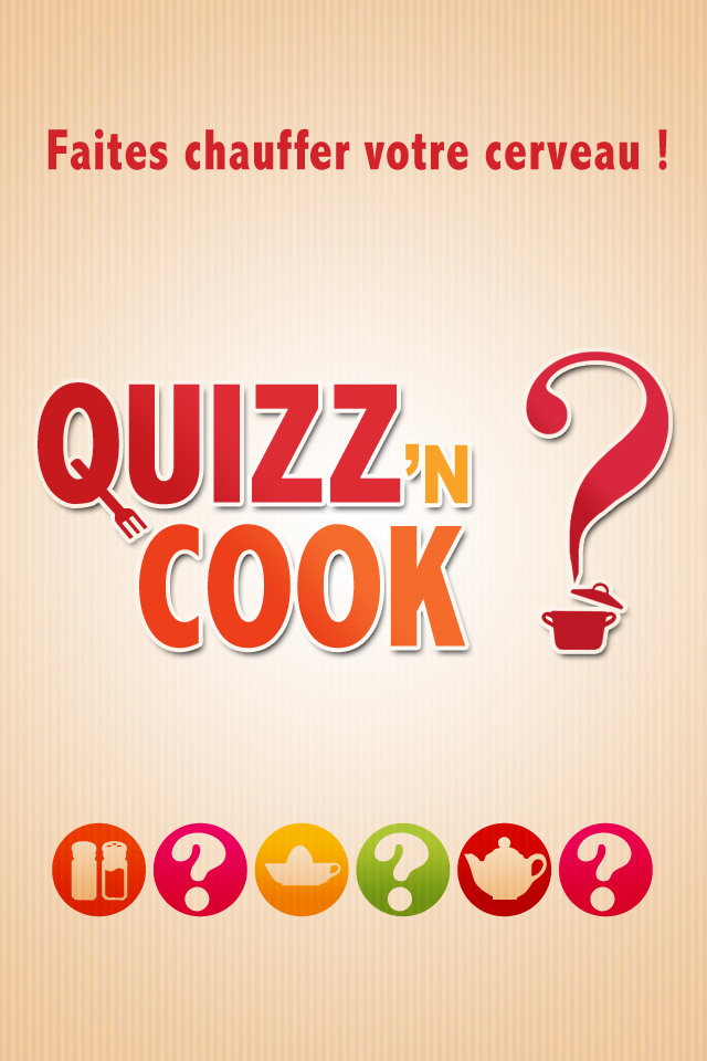 Screenshot Quizz'N Cook